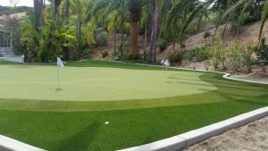 Putting Green with US Made Turf