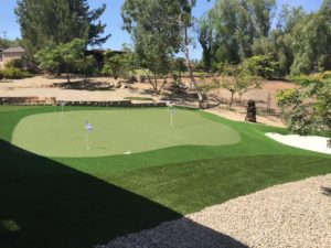 Backyard Putting Green in San Diego