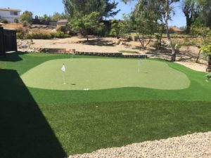 Putting Green US Turf San Diego Installation