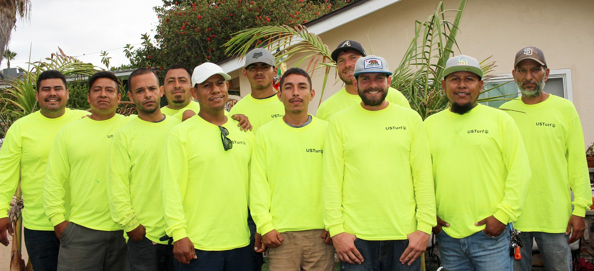 US Turf San Diego installation team photo