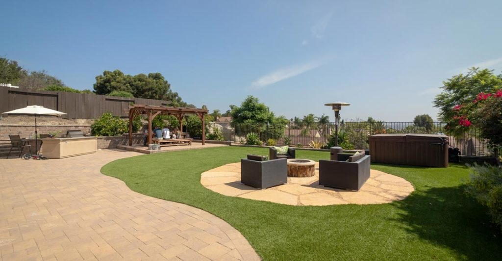 artificial lawn US Turf