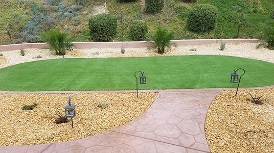 Premium 56 example yard installation