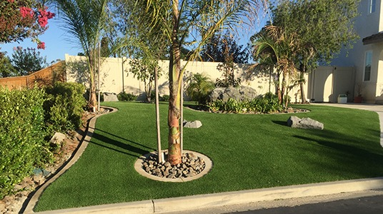Premium 72 example yard installation
