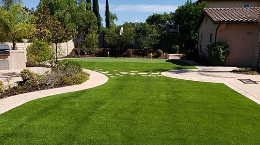 Premium 82 example yard installation