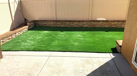 Malibu Fescue example yard installation