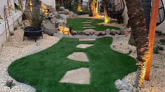 Premium 74 example yard installation